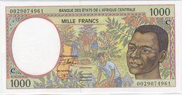 Central Africa ( Congo ) P 102C G - 1000 Francs 2000 - UNC - Kongo
