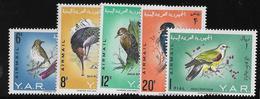 Yemen Poste Aérienne N°41/45 - Oiseaux - Neuf ** Sans Charnière -  TB - Yemen