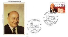 Fdc Filagrano Gold: MONDOLFO 1995 ; No Viaggiata - 6. 1946-.. Repubblica