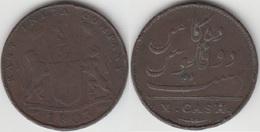 India Britannica 10 Cash 1803 KM#319 - Used - Inde