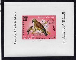 Yemen Bloc Feuillet N°21 - Oiseaux - Neuf ** Sans Charnière -  TB - Yemen