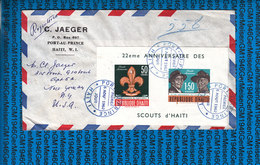 Haiti Cover 1962 / Scouting Jamboree - Scoutisme