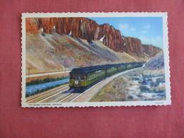 Train Palisade Canyon Nevada >  Ref 3132 - Vereinigte Staaten