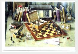 Jeu De Peinture Chess Club 2018 Filokartistov - Schach