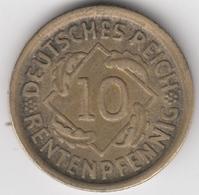 @Y@    Duitsland   10 Pfennig  1924  D   (D17) - [ 2] 1871-1918: Deutsches Kaiserreich