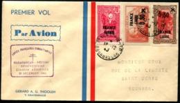 MADAGASCAR - 1er Vol MADAGASCAR/REUNION Réouverture Liaison Aérienne/20 DEC 1943 - C.S S/env Spéciale - TB - Madagascar (1889-1960)