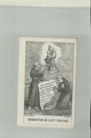 Image Pieuse,Lithographie Sur Tissu   , Bénediction De SaintFrancois   / Edit E. VALIN  Jan 2019 Caniv - Devotion Images