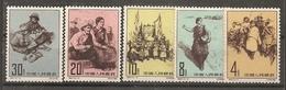 China Chine  1961 MNH - 1949 - ... Volksrepublik