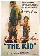 Cpm Affiches  CINIMA  THE  KID  CHARLES  CHAPLIN   TBE   PU252 - Manifesti Su Carta