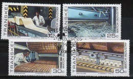 Transkei 1985 Set Of Stamps To Celebrate Match Industry. - Transkei
