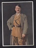 DR Nazikunst Horn / Adolf Hitler - Mit Nazispruch - Weltkrieg 1939-45