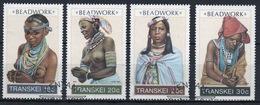 Transkei 1987 Set Of Stamps To Celebrate Beadwork. - Transkei