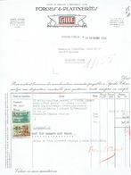 Facture 1949 SPIXHE - THEUX - GILLE - Forges & Platineries - Belgique