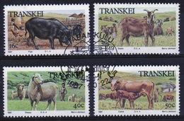 Transkei 1987 Set Of Stamps To Celebrate Domestic Animals. - Transkei