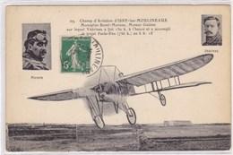 Champ D'Aviation D'Issy-les-Moulineaux - Monoplan Borel-Morane, Moteur Gnôme Sur Lequel Védrines A Fait 150 K à L'heure - Avions