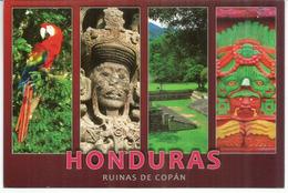 Ruinas De Copan.Honduras, Avec Timbre Yum Kax, Dieu Du Maïs, Carte Postale Adressée Andorra, Avec Timbre à Date Arrivée - Honduras