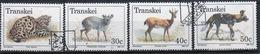 Transkei 1988 Set Of Stamps To Celebrate Endangered Animals. - Transkei