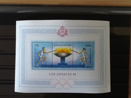 Block 9  Olympic Games 1984 Los Angeles MNH. - Blocs-feuillets