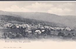 Mont-la-Ville, Vue Générale, Non Circulée - VD Vaud