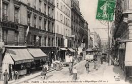 PARIS  75011 -- Rue Oberkampf Prise De L'avenue De La République - Arrondissement: 07