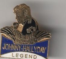 Rare Pin's Johnny Halliday Legend - Personnes Célèbres