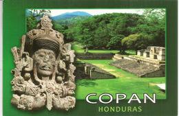 UPAEP 2016, Ruinas De Copan.Honduras,, Sur Carte Postale Adressée Andorra, Avec Timbre à Date Arrivée - Honduras
