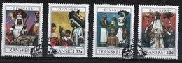 Transkei 1990 Set Of Stamps To Celebrate Diviners. - Transkei