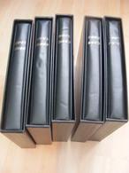 SUPERBE LOT 5 Classeurs SAFE Vides De Timbres 1991/2009 COMPLET ! - Albums & Binders