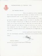Brief 1939 TERBIEST-SINT-TRUIDEN-Brief Van Bestendige Deputatie Provincie Limburg To Mijnheer ROBERTI Directeur Sucrerie - Belgique