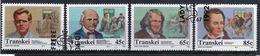 Transkei 1992 Set Of Stamps To Celebrate Celebrities Of Medicine 7th Series. - Transkei