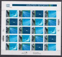 USA  08.01.2002 SHEET Mi # 3511-14 Salt Lake City Winter Olympics MNH OG - Winter 2002: Salt Lake City