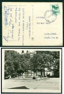 Yugoslavia 1961 Ambulance Railway Post Bahnpost Novi Sad - Beograd 17 Postcard Sremski Karlovci Park - 1945-1992 Socialist Federal Republic Of Yugoslavia
