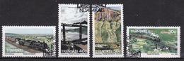 Transkei 1989 Set Of Stamps To Celebrate Trains. - Transkei