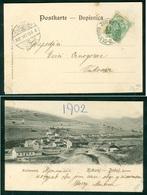 Yugoslavia 1902 Railway Post Bahnpost Sarajevo - Brod Zug Postcard Grus Vukovar Kakanj Doboj Railway Station Coal - 1945-1992 Socialist Federal Republic Of Yugoslavia