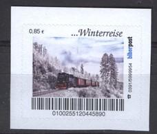 Biber Post Winterreise (Zug Mit Dampflok) (85) G798 - [7] Repubblica Federale