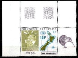 Polynésie   Y&T  363  XX   ---     MNH  --  Luxe  --   Superbe Coin De Feuille... - Polynésie Française