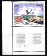 Polynésie   Y&T  389  XX   ---     MNH  --  Luxe - Coin De Feuille... - Neufs
