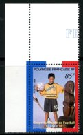 Polynésie   Y&T  571  XX   ---     MNH  --  Luxe  --  Coin De Feuille... - Neufs