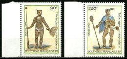 Polynésie   Y&T  584 - 585  XX   ---     MNH  --  TTB... - Neufs