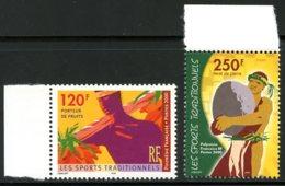 Polynésie   Y&T  625 - 626   ---     MNH  --  TTB... - Neufs