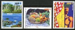 Polynésie   Y&T  831 - 833    ---     MNH  --  TTB... - Polynésie Française