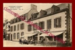 Locquirec * Hotel Du Port * Cuisine Soignée ( Scan Recto Et Verso ) - Locquirec