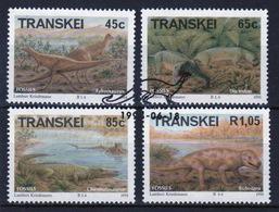 Transkei 1993 Set Of Stamps To Celebrate Prehistoric Animals. - Transkei