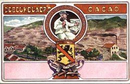 CHOCOLAT DE BEUKELAER   Reclame - Publicité - Carte Publicitaire : Debeukelaere's     Advertisement Advertising. - Publicidad