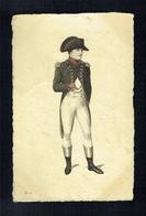 CPA 6 - Napoléon - Portrait - Stahlstich Galerie Série 26 - Histoire