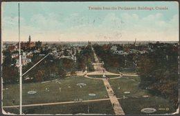 Toronto From The Parliament Building, Ontario, 1912 - Valentine's Postcard - Toronto