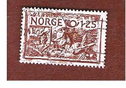 NORVEGIA  (NORWAY)    SG 863  -   1980   NORDEN: CASTIRON STOVE ORNAMENTS -   USED ° - Norvegia