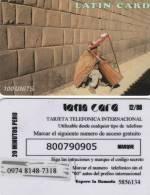 *ITALIA - LATIN CARD* - Scheda Usata - [2] Handy-, Prepaid- Und Aufladkarten