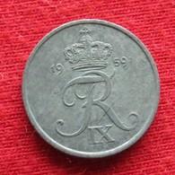 Denmark 1 Ore 1959 KM# 839.2  Dinamarca Danemark Danimarca Denemarken - Danemark
