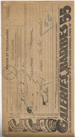 Télégramme Des Galeries Barbès - Télégraphes Et Téléphones